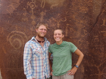 "In front of the ""Space Cube"" in Utah -- August 2008"
